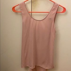 XS light pink express tank